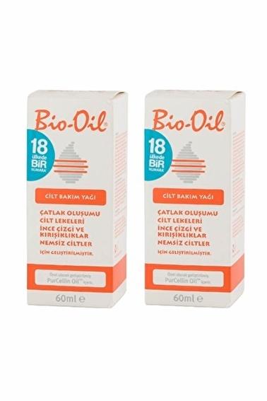 Bio-Oil BIO-OIL 2 x 60 ml Cilt Bakım Yağı İkili Paket Renksiz